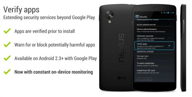 Android Malware-Scanner und App-Verifizierung