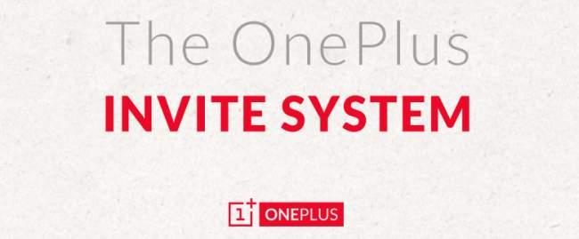 OnePlus One Einladung