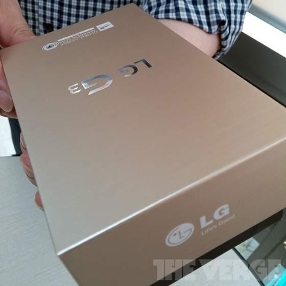 LG G3 Retail-Verpackung