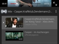 YouTube Mix in der Android-App