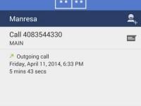 Android 4.4.3 KitKat Telefon-App