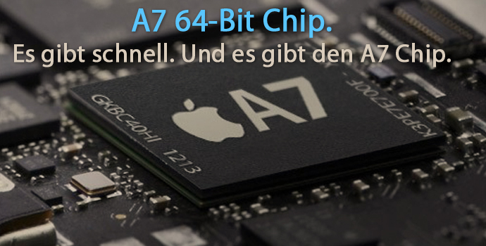 Apple A7 Chip mit 64-Bit Technologie