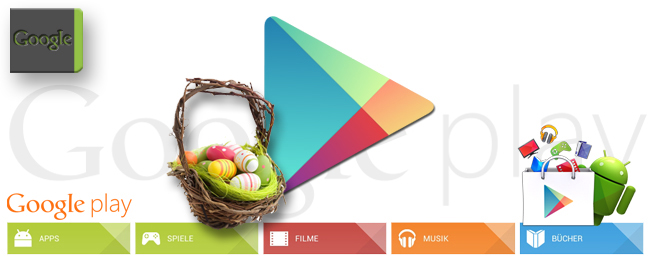 Google Play Store Ostern