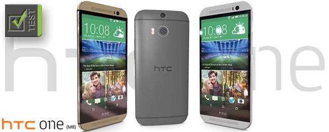 HTC One M8 Test