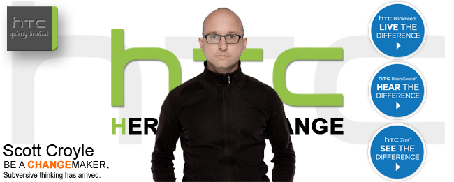 HTC HEad of Design Scott Croyle