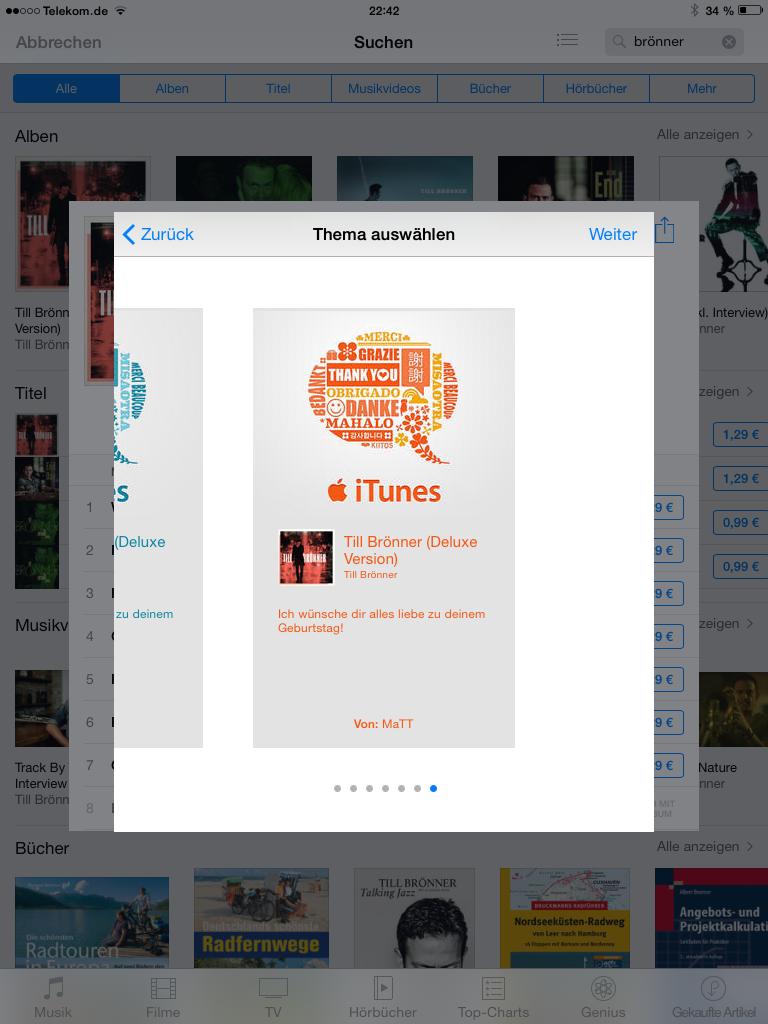 iTunes Apps verschenken