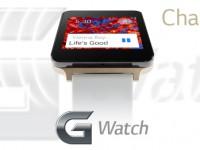 LG G Watch: Champagne Gold und Wasserdicht