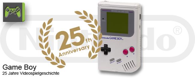 25 Jahre Nintendo Game Boy