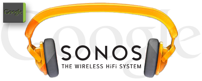 Google Play Music mit Sonos
