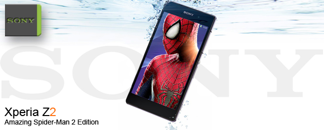 Sony Xperia Z2 The Amazing Spider-man 2 Sonder Edition