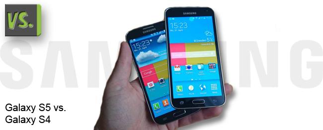 Galaxy S4 vs. Galaxy S5