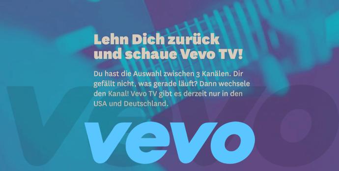 Vevo Musik und TV App