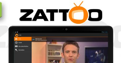 Zattoo Internet TV