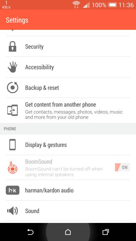 harman/kardon für das HTC One M8