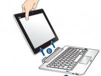 ASUS PF-06 PadFone Tastatur-Dock
