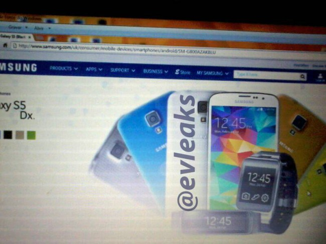 Samsung Galaxy S5 Dx ala Galaxy S5 Mini