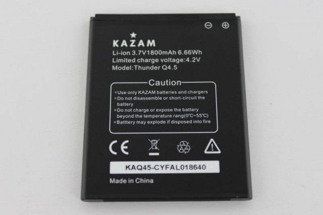 KAZAM Mobile Thunder Q4.5 Test