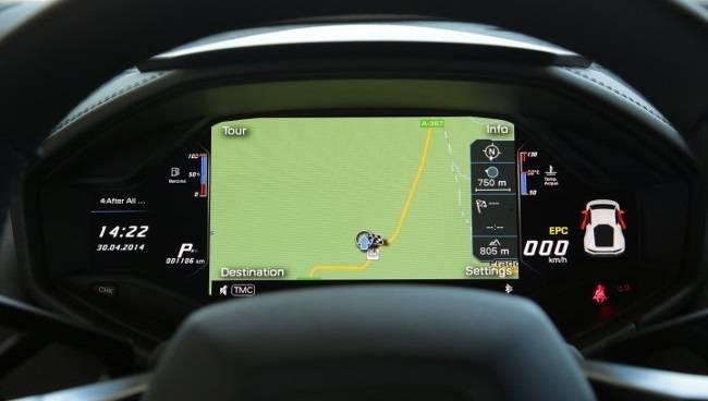 Lamborghini Huracán Cockpit