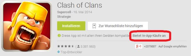 Google Play Store Freemium