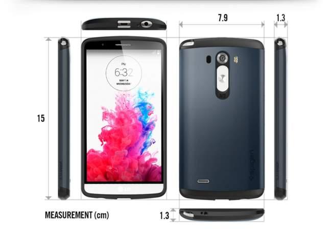 Spigen Slim Armor Case für LG G3