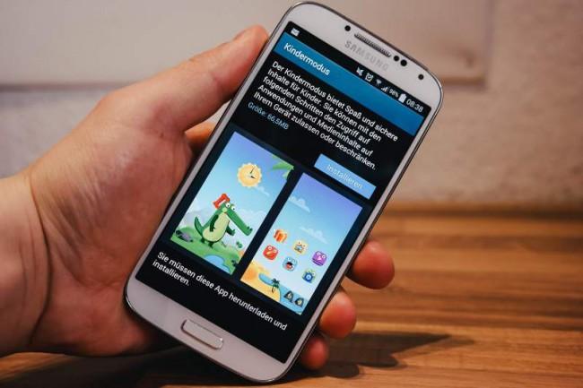 Galaxy S4 mit Kids Mode