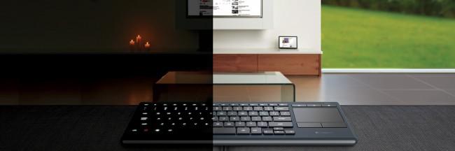 Logitech K830 Illuminated Keyboard