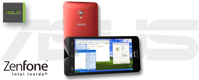 ASUS ZenFone mit Windows XP