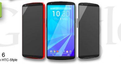 Google Nexus 6 Konzept