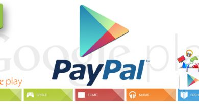 Google Play Store mit PayPal
