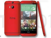 HTC One M8: Glamurös in kräftigem Rot
