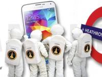 Samsung: Lumianauten zu Besuch in London Heathrow