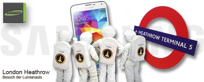 Lumianauts bei Samsung zu BEsuch