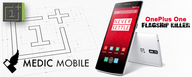 "OnePlus One ""Smash the past"" für Medic Mobile"