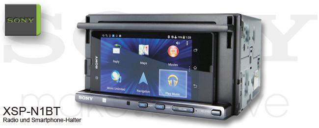 Sony XSP-N1BT Autoradio