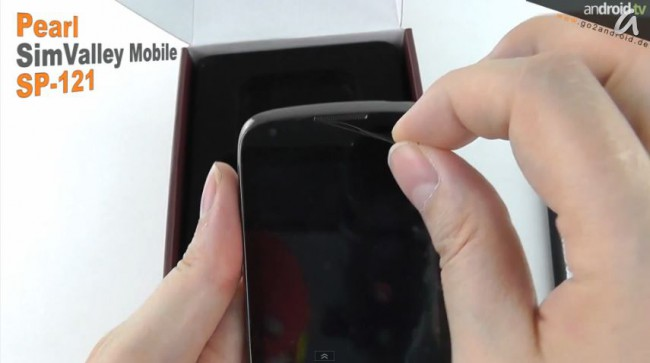 [Video] simvalley MOBILE SP-121 Flash unboxing