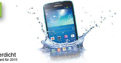 Smartphones werden wasserdicht