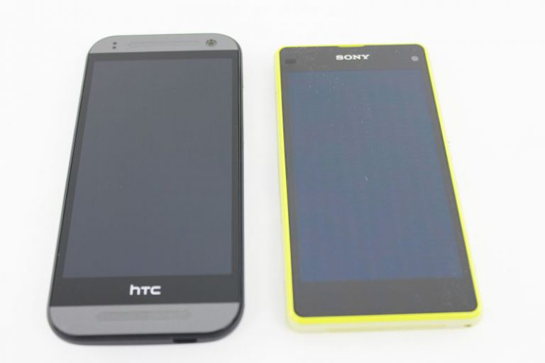 HTC One mini 2 vs. Sony Xperia Z1 Compact