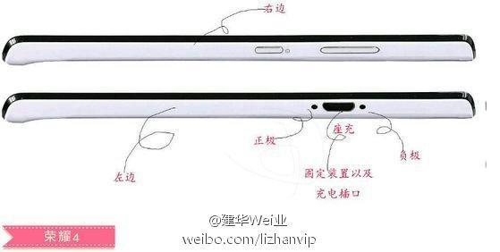 HUAWEI Honor 4 Leak