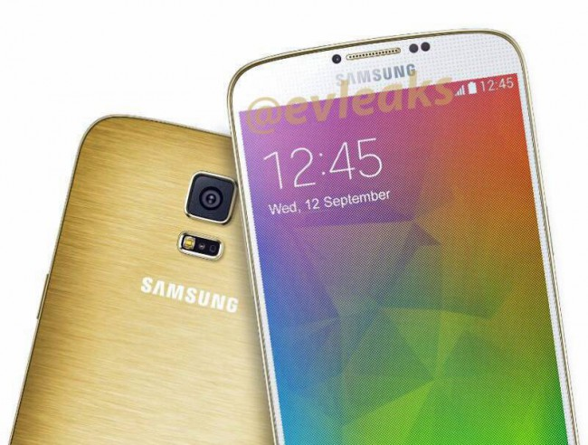 Samsung Galaxy F in Gold