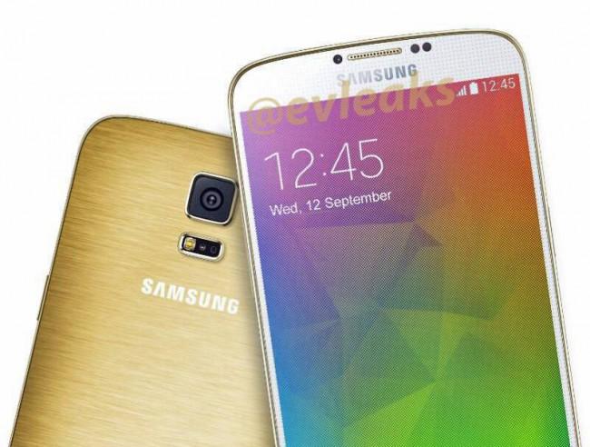 Samsung Galaxy F in Gold