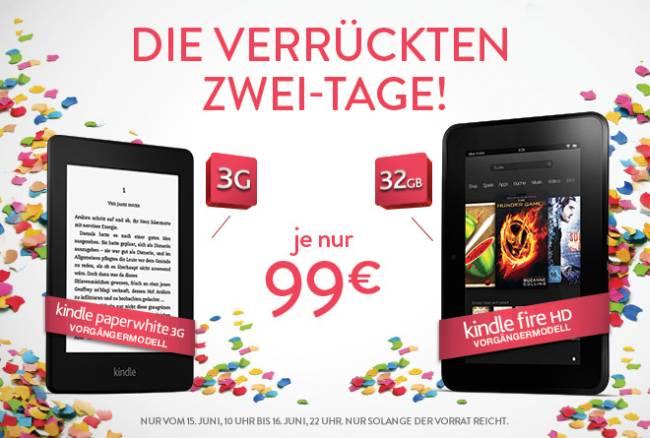 Amazon Kindle Fire HD Angebot
