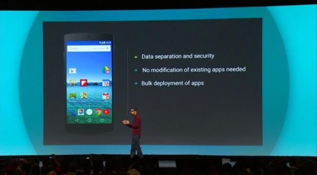 Google / Samsung Knox