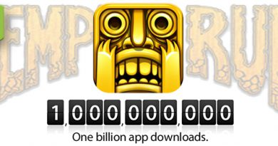 Temple Run mit einer Milliarde Downloads