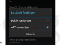 ART wird zur Standard-Runtime des nächsten Android
