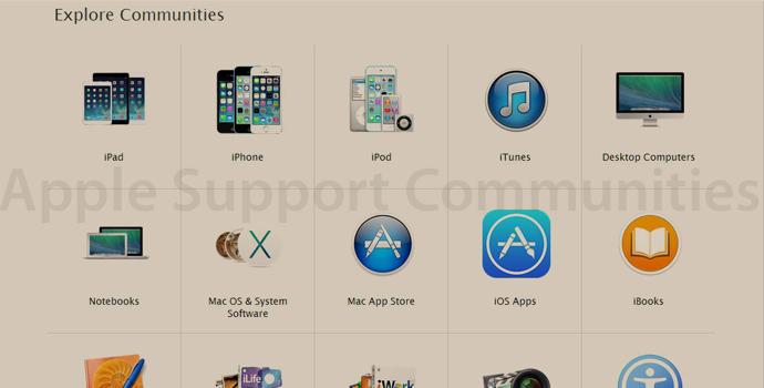 Apple Support Communities