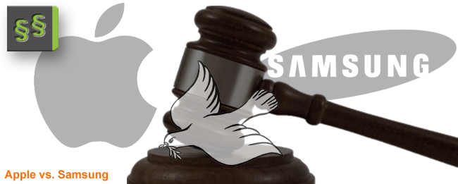 Apple vs. Samsung Friedensangebot
