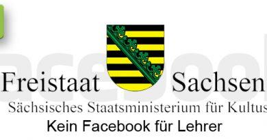 Kein Facebook für Sachsen-Lehrer