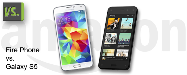 Amazon Fire Phone vs Samsung Galaxy S5