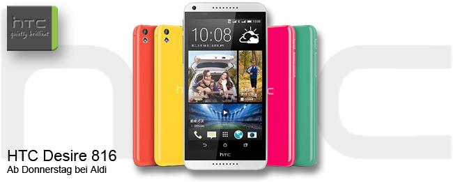 HTC Desire 816 bei Aldi Nord
