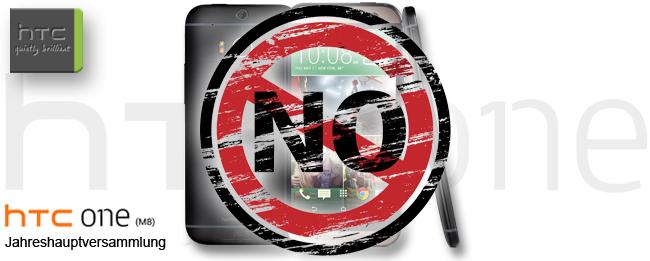 HTC One M8 und die Jahreshauptversammlung